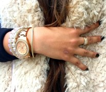 How to style fur vest outfit 9