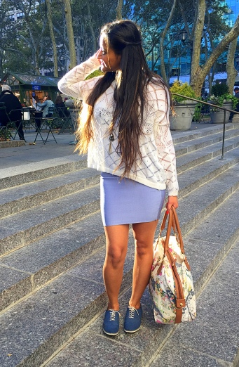 how to casual pencil skirt