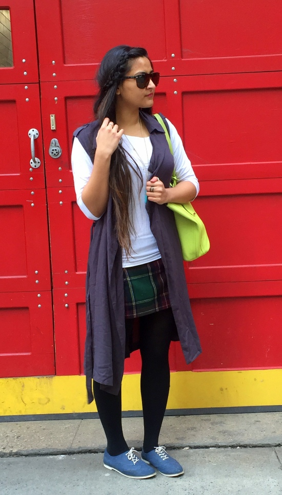 Sleeveless Vest Casual Outfit 6