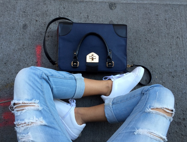 White Sneakers outfits 10