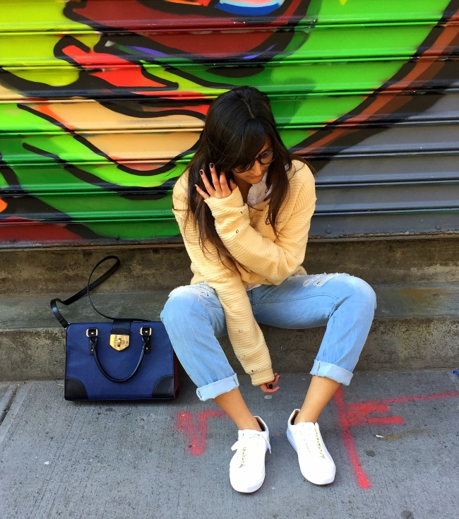 White Sneakers outfits 11