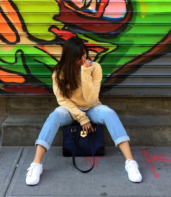 White Sneakers outfits 12