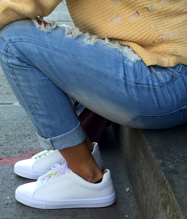White Sneakers outfits 9