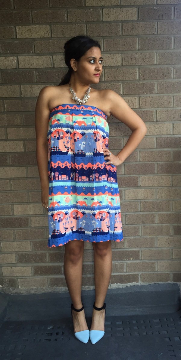 What to Wear With a Printed Skirt 7