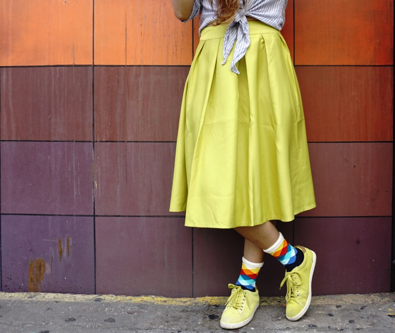Socks Lookbook and Skirt Outfits 1