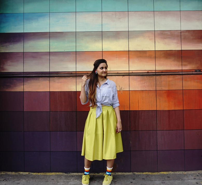 Socks Lookbook and Skirt Outfits 2
