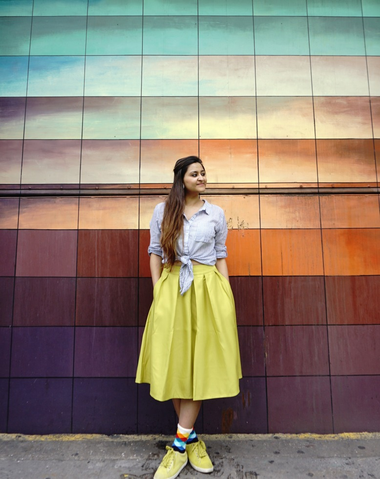 Socks Lookbook and Skirt Outfits 3