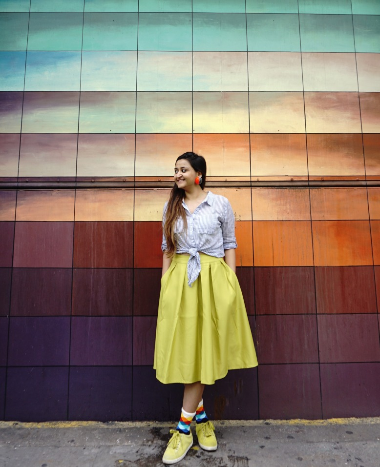 Socks Lookbook and Skirt Outfits 4