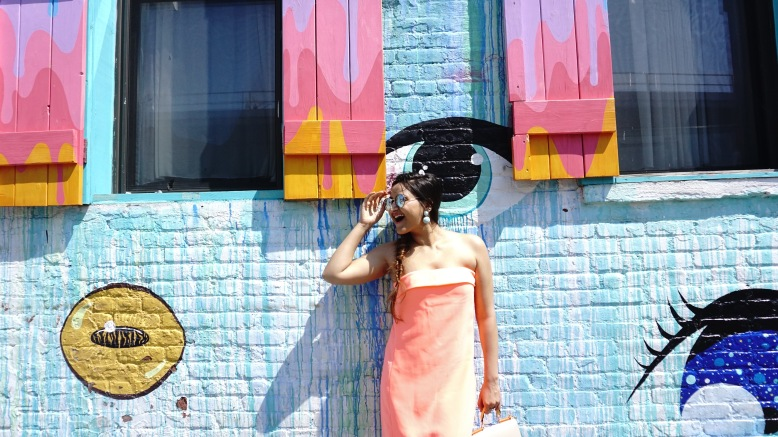 colorful pastel neon outfits and thredup review 8