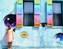 colorful pastel neon outfits and thredup review cover