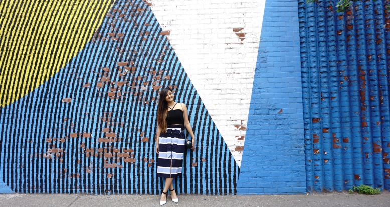 summer Trends Paperbag Midi SKirt Outfits 4