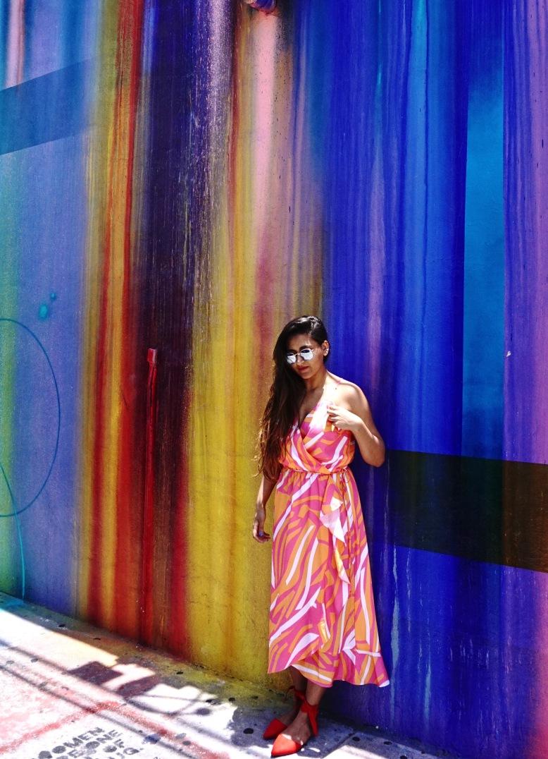 Geometric print Dress Cuddy Studio 13