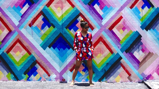 Geometric print Dress Cuddy Studio 7
