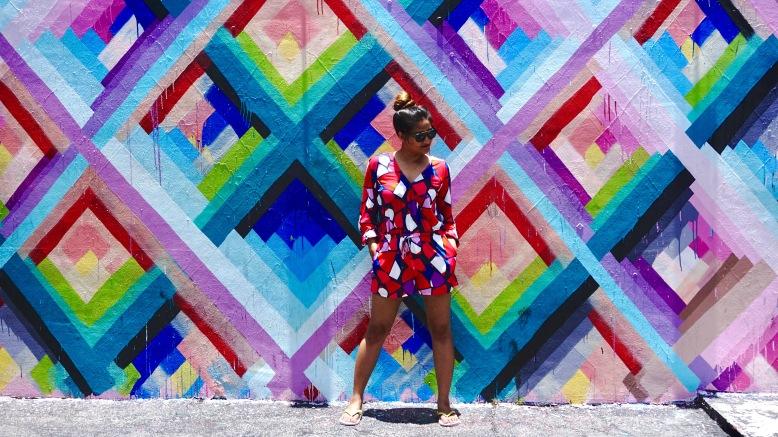 Geometric print Dress Cuddy Studio 7