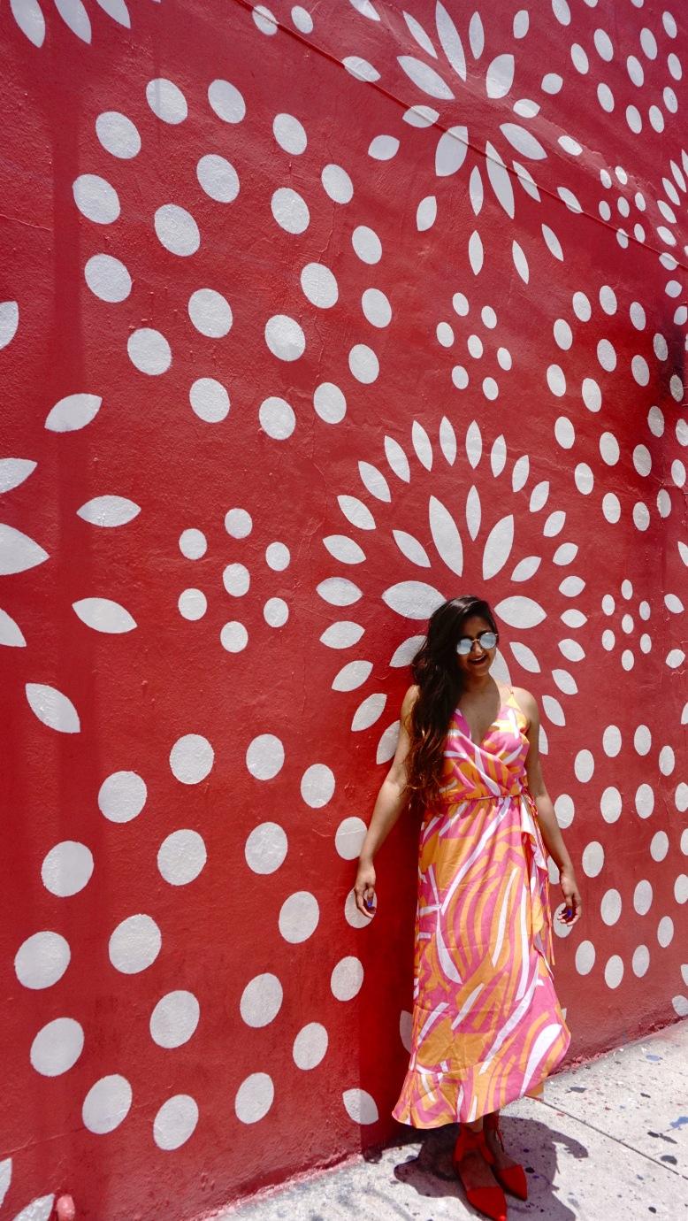 Geometric print Dress Cuddy Studio 8