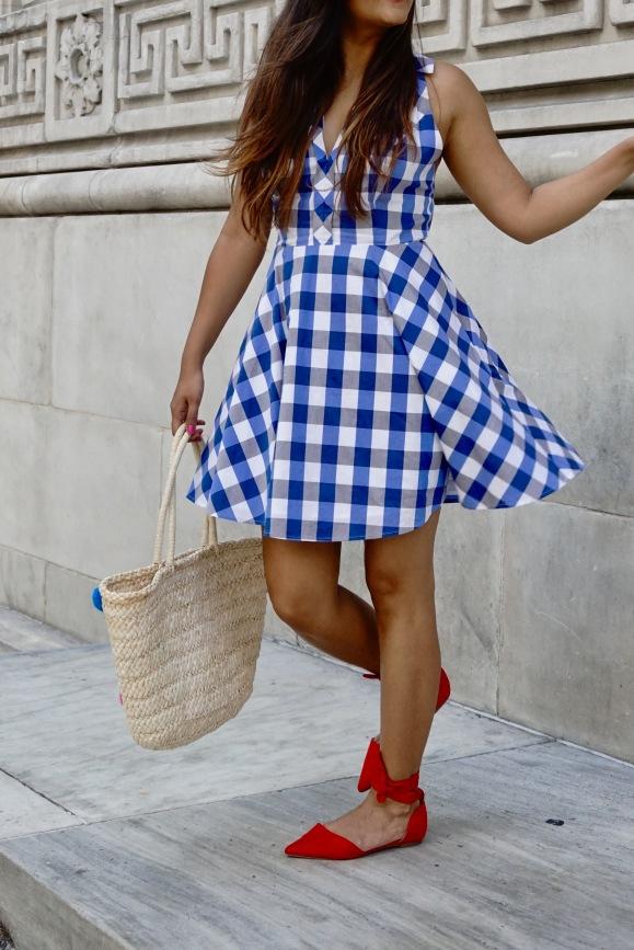 Criss Cross BacklessSummer Dress Outfit 2
