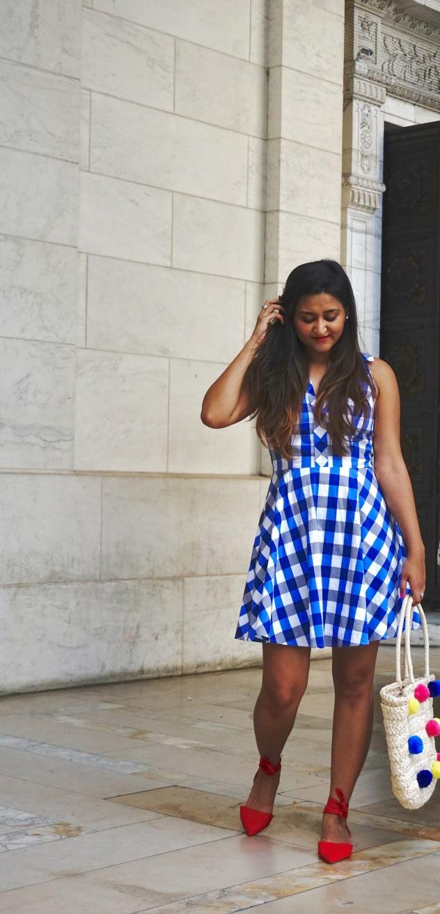 Criss Cross BacklessSummer Dress Outfit 6
