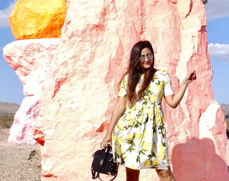 Lemon Print Outfit Trend 1