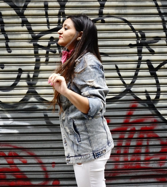 How to Wear The Denim Jacket Trend 9