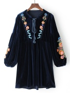 Winter Boho Dress 1