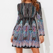 Winter Boho Dress 2