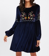 Winter Boho Dress 4