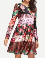 Winter Boho Dress 5