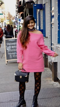 Winter Fashion Trends Bright Sweaters 5