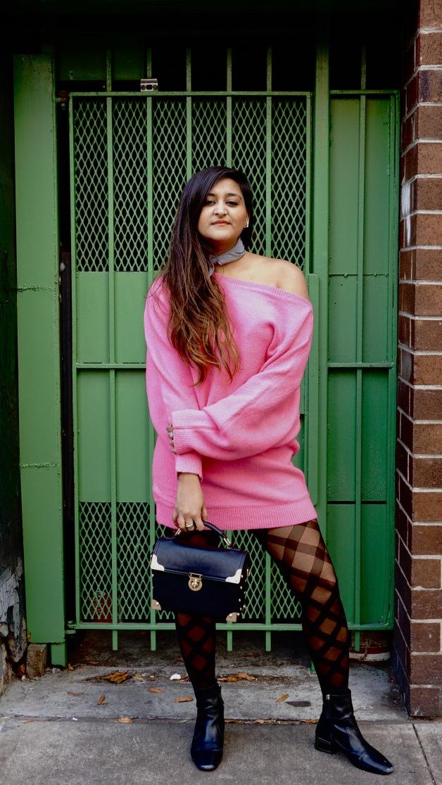Winter Fashion Trends Bright Sweaters 8