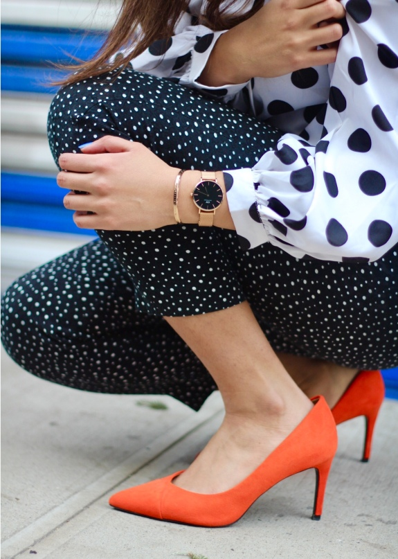 How to Wear Polka Dots 1