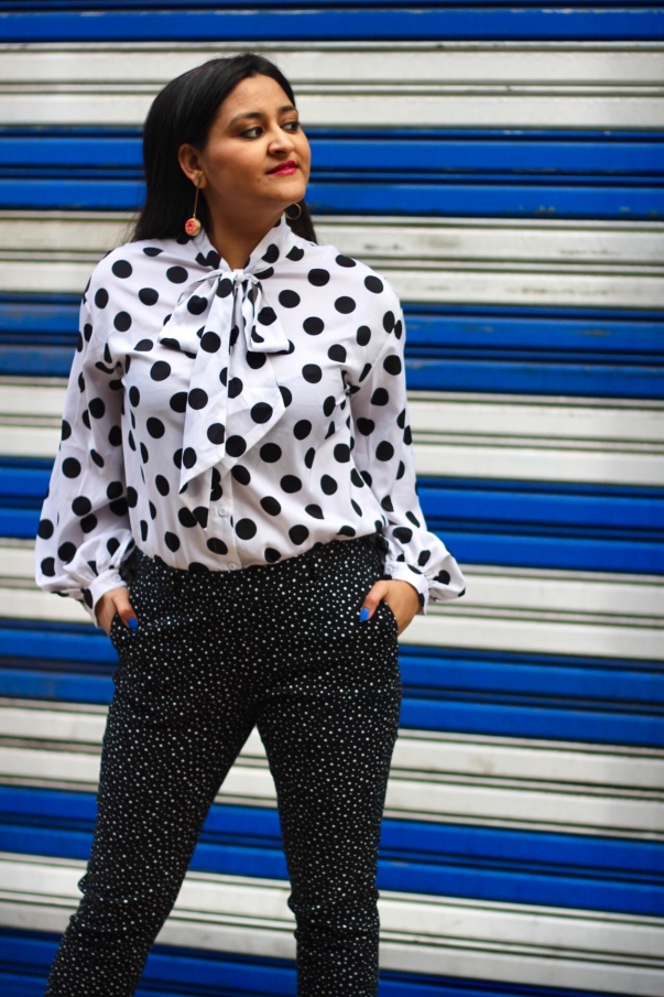 How to Wear Polka Dots 3