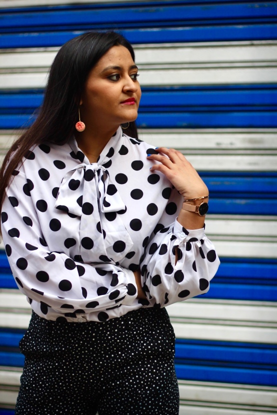 How to Wear Polka Dots 5