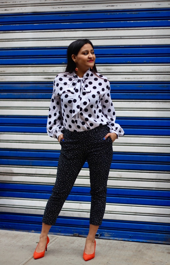 How to Wear Polka Dots 6