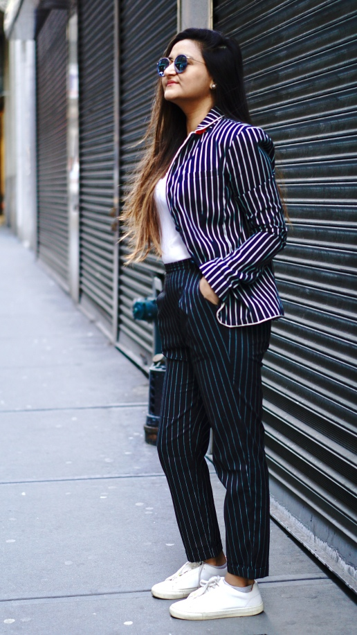 How to Wear a Pantsuit Bosslady Outfit 7