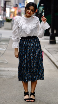 Spring Outfit with Victorian White Shirt 2