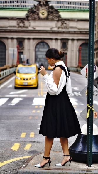 How to wear Pinafore or Overall trend 2