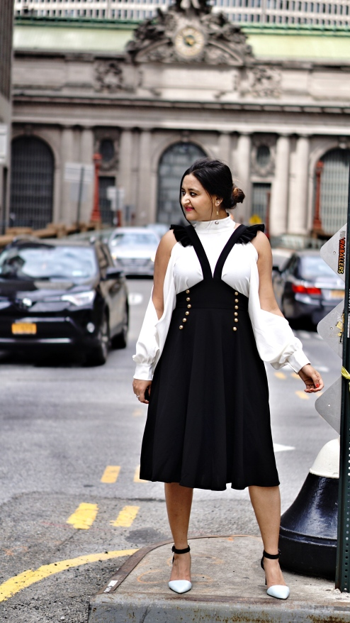 How to wear Pinafore or Overall trend 6