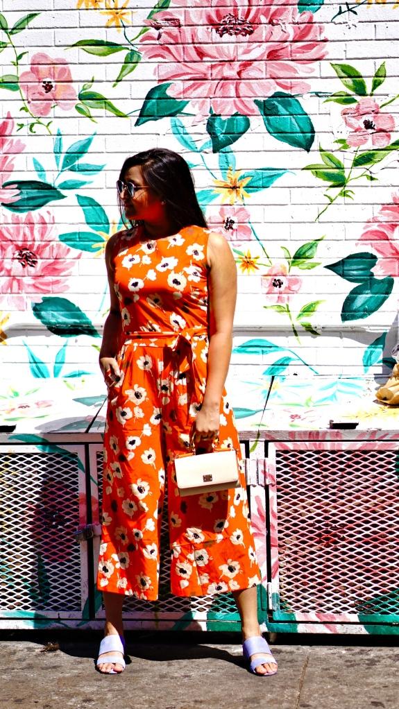 Floral Jumpsuit outfit 2