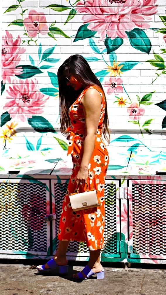 Floral Jumpsuit outfit 4