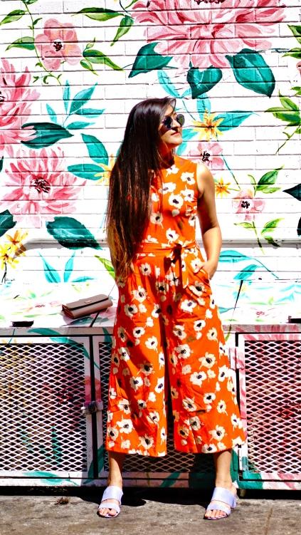 Floral Jumpsuit outfit 5