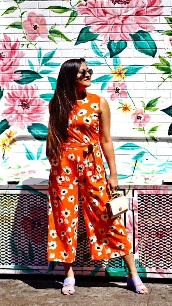 Floral Jumpsuit outfit 6