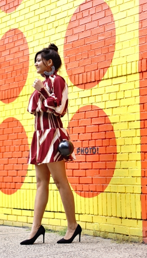 Mock Neck Dress Fall Outfit 5