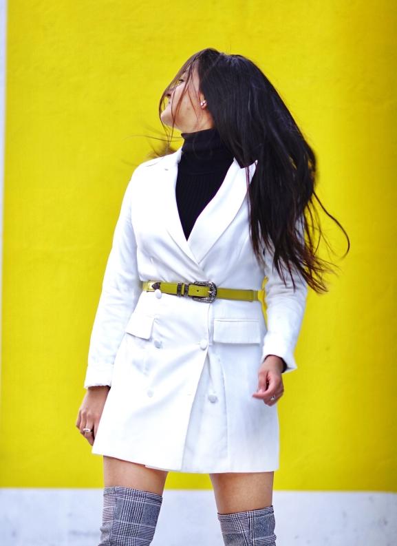 Blazer Dress Winter Outfit 1