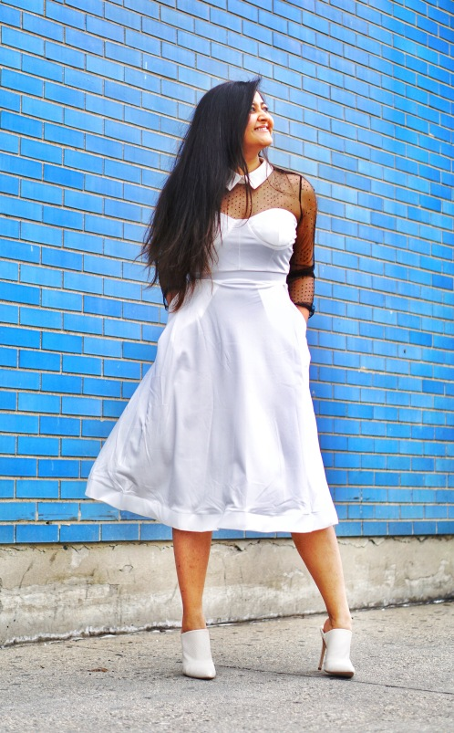 How to Wear a Summer Dress in Spring Outfit 5