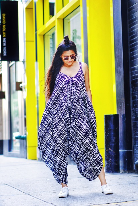 Oversized Jumpsuit Outfit 1