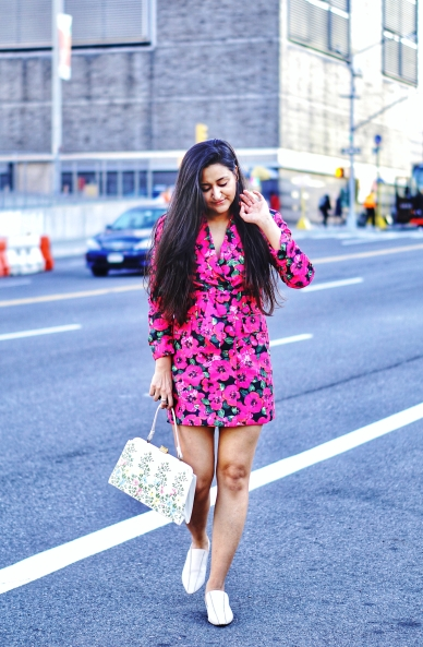 Floral Blazer Dress outfit 3