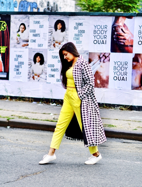 How to style a Houndstooth Coat Fall Outfit