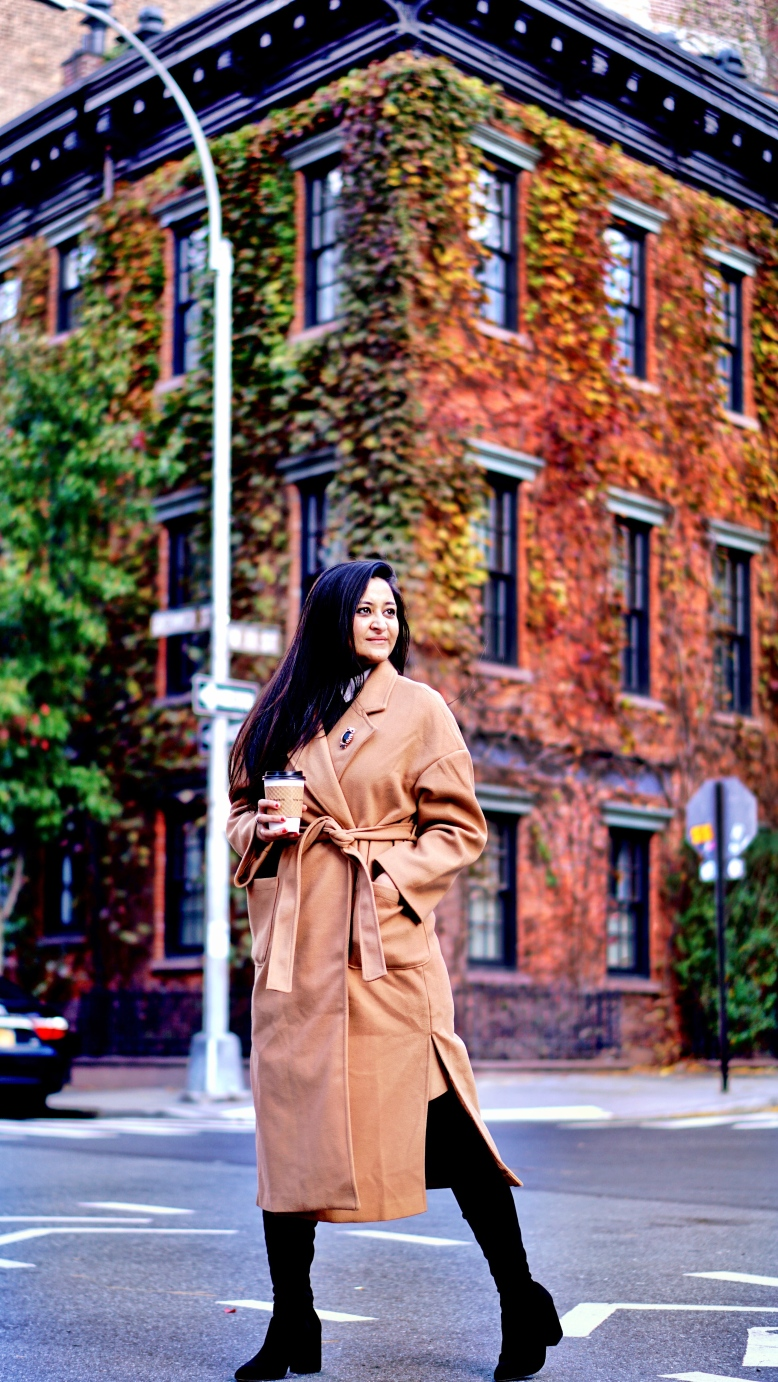 Camel Coat Outfit Ideas 2