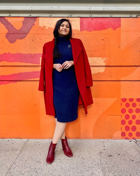 Fall Outfit Ideas with Red Coat